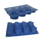 6pcs set chocolate molds, silicone kitchenware, cake mould