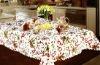 christmas design polyester table cloth
