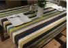 100%cotton canvas printed tablecloth