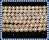 9-10mm Natura Orange Freshwater Pearl Beads Strands PLR197
