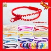 wholesale Newest fashion colorful plastic zipper bands