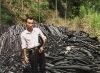 BBQ black wood charcoal