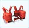 Outdoor type three phase cutout potential transformer