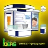 Cosmetic Kiosk Glass showcase