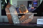 LED 2 in 1 Crystal Mineral Art Lamp Copy of Nature Middle Size