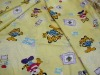 Peached bed sheet fabric stock