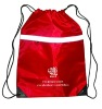 2012 High quality promotion polyester drawing bag