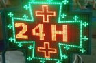 Special-shaped LED display
