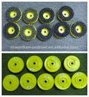 Round Abrasive Brushes Steel Wire Brush AB-01