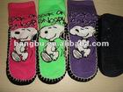 softy warm hand-winding sock shoe