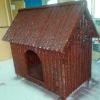 fiberglass garden decoration-natural cute dog house