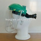 PC plastic heat & impact resistance face shield