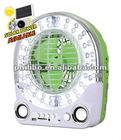 Mini Emergency Fan with Light Rechargeable
