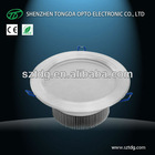 China manufacturer 110v/220v/230v IP44 18w dimmable led round downlight