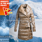 2012 Newest Women Maximum warmth and Minimal weight Down Coats With Big Collar