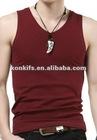 plain color mens tank top