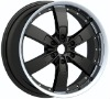 20inch machine black alloy wheels
