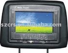 7'' Headrest car media player with USB/SD function
