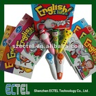 Customized/OEM service/OID/OID 2 talking pen,touch reading pen,kids learning book with talking pen