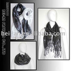 fashion ladies silk scarf