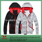 Fashion zip-up hoodie,sweatshirt custom