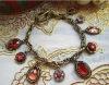 Euramerican Fashion vintage glass stone bracelet jewelry