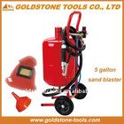 5 gallon 19L portable sandblaster , portable sandblasting machine,sand blasting machine