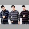 mens long sleeve wool seater