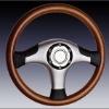 Wooden 3X Steering Wheels SWW012