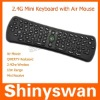 2.4GHz Wireless Fly Air Mouse Keyboard for PC, mini wireless keyboard
