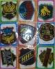 handmade fabric cloth mark sticker