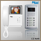 "3.5""/4.0"" color video door phone entry system"