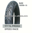 Vietnam Motorcycle tire 130/90-15 tubeless tire T/T T/L