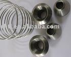 Gr2/Gr5 titanium springs