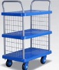 Layer fence trolley