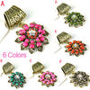 flower-shaped scarves jewelry pendant charm gift for her, PT-748
