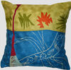 Decorative matisse throw pillows