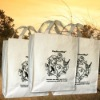 100% organic cotton tote bag for shopping