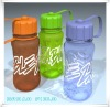 100ml Colorful Plastic water bottle for drinking
