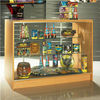 glass jewelry display cabinets