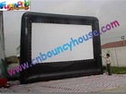 2012 Durable and collapsible Inflatable movie screen with velcro removable screen wall(MS-80)