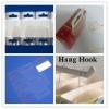 PET adhesive hang tab