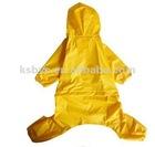 Dog Yellow Raincoat