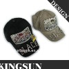 2012 Special style design children cap kid jean cap