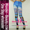 Seascape unique galaxy leggings