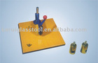 KR manual round-shape glass cutting table