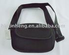 neoprene shoulder bag with adjustable strap