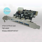 USB 3.0 PCI post card