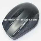 4-button wireless optical mouse with USB Nano-receiver