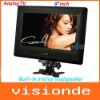 Free Shipping SUPER DA-903C 9 inch TFT LCD Portable Color TV Monitor with USB/FM/AV/SD Black Dropshipping+Wholesale